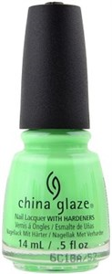 "China Glaze Lime After Lime, 14 мл. - Лак для ногтей China Glaze ""Лаймовый пунш"""