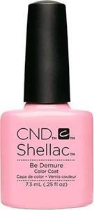 CND Shellac Be Demure, 7,3 мл. - цветное покрытие шеллак гель лак