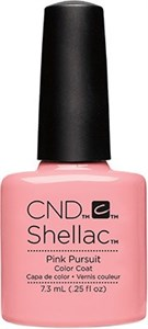 CND Shellac Pink Pursuit, 7,3 мл. - цветное покрытие шеллак гель лак