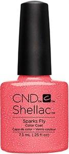 CND Shellac Sparks Fly, 7,3 мл. - цветное покрытие шеллак гель лак