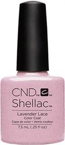 CND Shellac Lavender Lace, 7,3 мл. - цветное покрытие шеллак гель лак