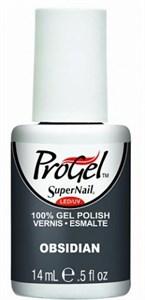 """SuperNail ProGel Obsidian, 14 мл. - гелевый лак """"Обсидиан"""""""