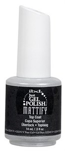 IBD Just Gel Polish Mattify Top Coat, 14 мл. - матовое верхнее покрытие