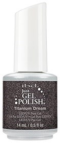 "IBD Just Gel Polish Titanium Dream, 14мл - гель лак IBD ""Титановый"""