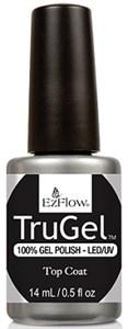 EzFlow TruGel Top Coat, 14 мл. - верхнее покрытие для гелевого лака