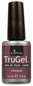 """EzFlow TruGel Greystone, 14 мл. - гелевый лак """"Грейстоун"""""""
