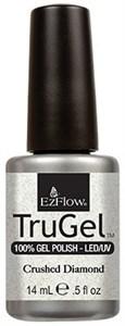 "EzFlow TruGel Crushed Diamond, 14 мл. - гелевый лак ""Алмазная пыль"""