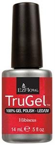 """EzFlow TruGel Hibiscus, 14 мл. - гелевый лак """"Гибискус"""""""