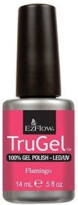"EzFlow TruGel Flamingo, 14 мл. - гелевый лак ""Фламинго"""