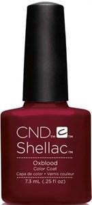 CND Shellac Oxblood, 7,3 мл. - цветное покрытие гель шеллак