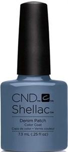 """CND Shellac Denim Patch, 7,3 мл. - гель лак Шеллак """"Джинсовая заплатка"""""""