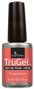 """EzFlow TruGel Tropical Fever, 14 мл. - гелевый лак """"Тропическая лихорадка"""""""