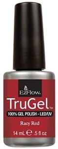 """EzFlow TruGel Racy Red, 14 мл. - гелевый лак """"Сочный красный"""""""