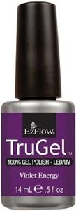 """EzFlow TruGel Violet Energy, 14 мл. - гелевый лак """"Фиолетовая энергия"""""""
