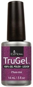 """EzFlow TruGel Plum-tini, 14мл. - гелевый лак """"Сливовый коктейль"""""""