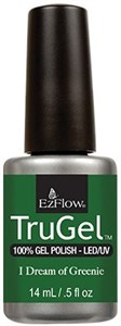 "EzFlow TruGel I Dream of Greenie, 14мл. - гелевый лак ""Травяной зеленый"""