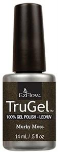 "EzFlow TruGel Murky Moss, 14 мл. - гелевый лак ""Болотный мох"""