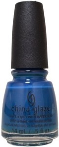 "China Glaze Jagged Little Teal, 14 мл. - Лак для ногтей China Glaze ""Немного пьяна"""