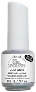 IBD Just Gel Polish White Gel Art Polish, 14 мл. - белый гель лак для дизайна