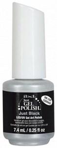 IBD Just Gel Polish Black Gel Art Polish, 14 мл. - чёрный гель лак для дизайна