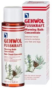 Gehwol Fusskraft Warming Bath Concentrate, 150 мл.- Согревающая ванна для ног