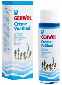 Gehwol Creme Foot Bath, 150 мл.- Крем-ванна для ног с Лавандой