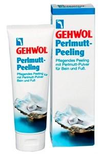 Gehwol Mother of Pearl Scrub, 125 мл.- Жемчужный пилинг для ног