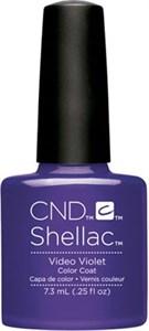 "CND Shellac Video Violet, 7,3 мл. - гель лак Шеллак ""Фиалка"""