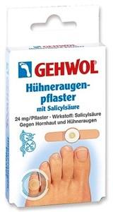 Gehwol Huhneraugen Pflaster Extra, 6шт. - Мозольный пластырь Геволь Экстра