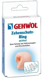 Gehwol Zehenschutzring G mini, 2шт. - Кольцо на палец защитное, маленькое