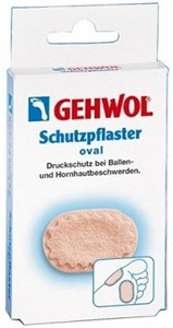 Gehwol Schutzpflaster Oval, 4шт. - Овальный защитный пластырь Геволь