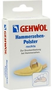 Gehwol Hammerzehen-Polster links - Подушечка под пальцы ног, большая, левая