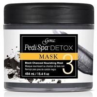 Gena Pedi Spa Detox Charcoal Mask, 473мл. - маска-детокс для педикюра, с древесным углём