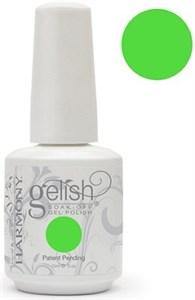 "Harmony Gelish Gel Polish Amazon Flirt - Green, 15 мл. - гель-лак ""Амазонский зеленый"""