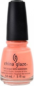"China Glaze Sun Of A Peach, 14мл - лак для ногтей ""Персиковое солнце"""