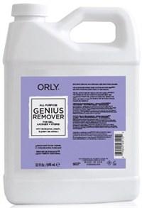 ORLY Genius All Purpose Remover, 946 мл.- Жидкость для снятия лака, геля и искусственных покрытий