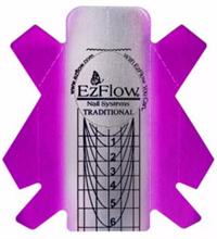 EzFlow Nail Forms Traditional 100шт. - классические формы для наращивания ногтей
