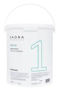 Saona Expert Line Sugar Paste 1 Bandage, 3500 гр.- Бандажная разогреваемая сахарная паста для шугаринга Саона