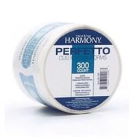 HARMONY Nail Forms, 300 pc - формы бумажные одноразовые для ногтей, 300 шт