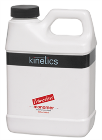Kinetics Primerless Liquid Monomer, 1892 мл. - мономер с добавление праймера для моделирования акриловых ногтей