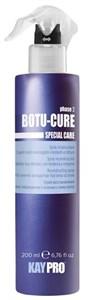 KAYPRO Botu-Cure Spray, 200 мл. - Спрей Ботокс восстанавливающий, для очень поврежденных и склонных к ломке волос