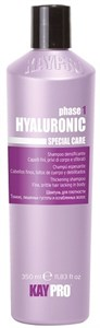 KAYPRO Hyaluronic Shampoo, 350 мл. - Уплотняющий шампунь с гиалуроновой кислотой