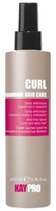 KAYPRO Curl Spray, 250 мл. - Спрей против сухости для вьющихся волос и волос после химической завивки