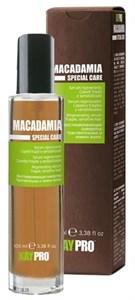 KAYPRO Macadamia Serum, 100 мл. - Увлажняющая сыворотка с маслом макадамии для хрупких и чувствительных волос