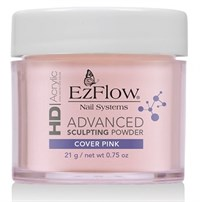 EzFlow HD Cover Pink Powder, 21 г. - камуфлирующая, непрозрачная розовая акриловая пудра