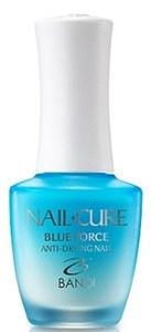 BANDI Nail Cure Blue Force, 14 мл. - Покрытие укрепляющее для деформированных ногтей