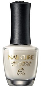 BANDI Nail Cure Calcium Repair, 14 мл. - Покрытие лечебное для слоящихся ногтей