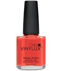 CND VINYLUX #112 Electric Orange,15 мл.- лак для ногтей