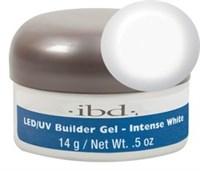 IBD LED/UV Builder Gel Intense White, 14 г. – конструирующий ярко-белый гель