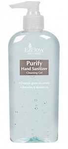 EzFlow Purify Hand Sanitizer, 236 мл. - дезинфицирующий гель для рук мастера и клиента